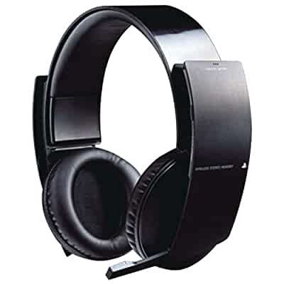 wireless stereo headset playstation 3 video games. Black Bedroom Furniture Sets. Home Design Ideas