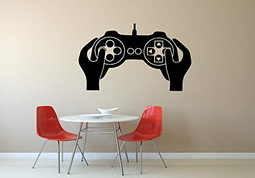 (N.SunForest Playstation Xbox Pad Controller Transfer Wall Decal Sticker O47)
