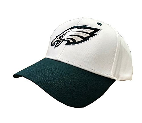 Philadelphia Eagles NFL Adult One-Size Primary Logo Adjustable Snapback Hat (Nfl Logo Cap)