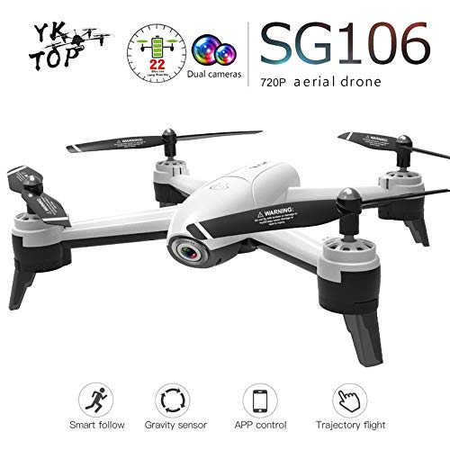 Peanutaso SG106 RC Drone con cámara 720P HD FPV WiFi Video ...