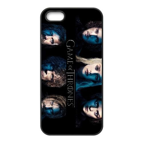 Game Of Thrones 2 coque iPhone 4 4S cellulaire cas coque de téléphone cas téléphone cellulaire noir couvercle EEEXLKNBC25169