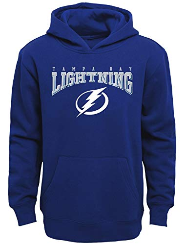 Outerstuff Tampa Bay Lightning Youth NHL Fadeout Pullover Hooded Sweatshirt ()