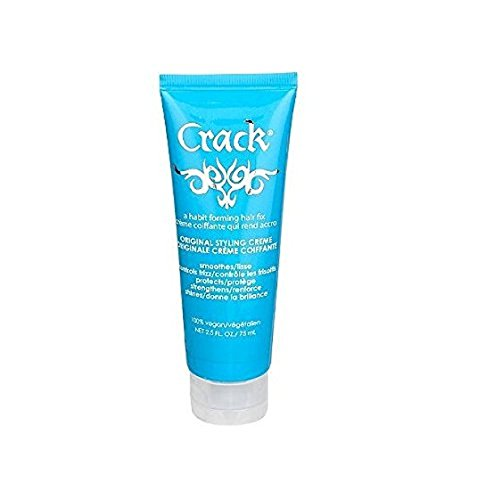 Bundle - 2 Items : Crack Original Styling Treatment, 2.5 Oz (Pack of 2) by Crack