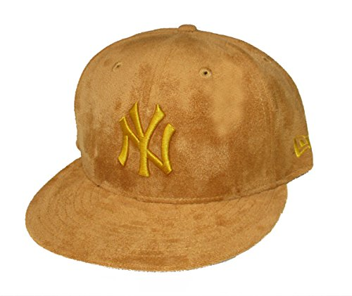 - New Era Cap Company, Inc. New York Yankees New Era Suede Snapback Adjustable One Size Fits Most Hat Cap - Carmel Brown