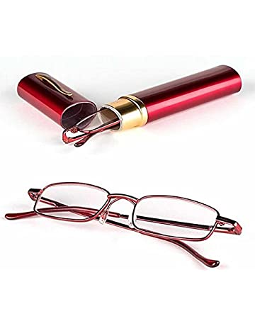 33f04d5d113 YANSHG® Metal frame Reading Glasses Rimmed Unisex With Tube Case +1.0