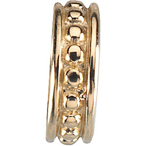 Roundel Spacer - 14K Yellow Gold 9mm Roundel Spacer