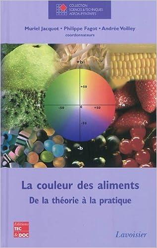 Livres gratuits La couleur des aliments : De la théorie à la pratique pdf