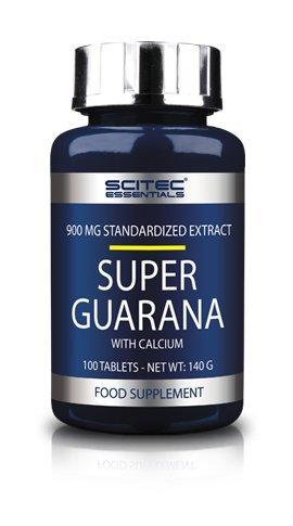 Scitec Nutrition Super Guarana, 100 Tabletten, 1er Pack ( 1 x 140 g Dose)