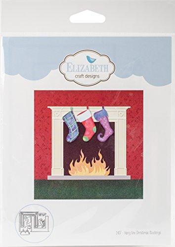 Elizabeth Craft Designs 1407 Metal Die Hang the Christmas Stockings by Elizabeth Craft Designs