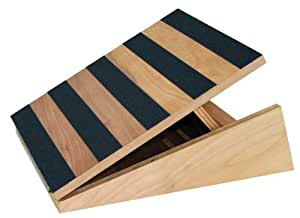 Amazon Com Adjustable Slant Board Professional Incline Calf Stretch 16 Quot X 18 Quot 5 Position