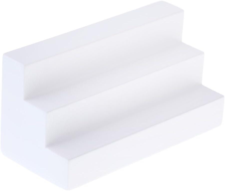 Amazon.es: 1:12 Escalera Blanca de Madera en Miniatura Muebles Decorativos de Casa de Muñecas: Juguetes y juegos