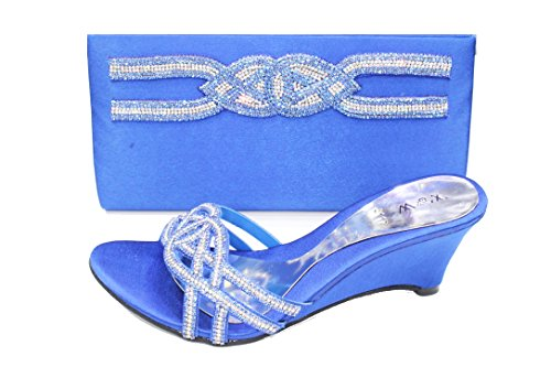 5 Walk Blue Royal Donna Wear Sandali Uk 36 amp; YPqCxfwO