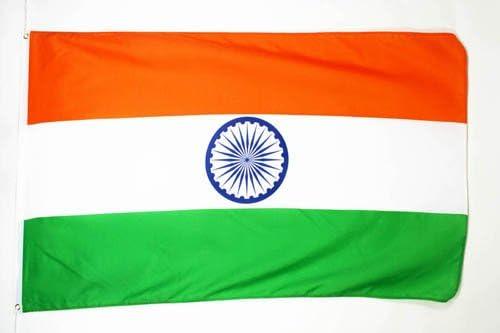 AZ FLAG Bandera de India 90x60cm - Bandera Indiana 60 x 90 cm: Amazon.es: Hogar
