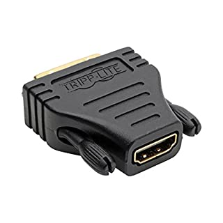 Tripp Lite HDMI to DVI Cable Adapter, DVI-D Connector, 1920x1080 (1080p), F/M (P130-000) (B000BTGVUS) | Amazon price tracker / tracking, Amazon price history charts, Amazon price watches, Amazon price drop alerts
