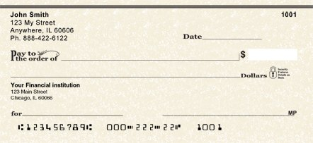 Parchment Personal Checks (1 Box of ()