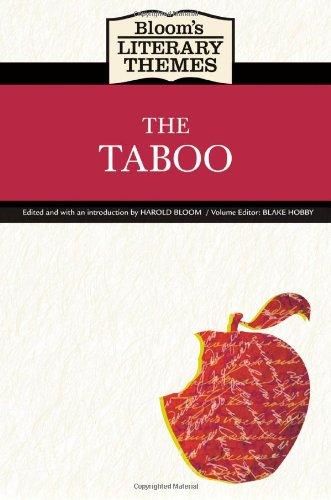 Download The Taboo (Bloom's Literary Themes) pdf epub