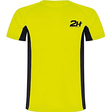 Camiseta técnica de pádel 2H Yellow Wing Man: Amazon.es: Deportes ...