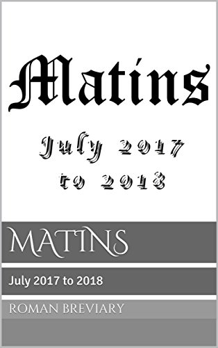 Download for free MATINS: July 2017 to 2018