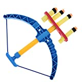 HAPPYCRAFTS98,Child Hunting Bow Toy Soft Bullet Gun Shooting Sports Bow and Arrow Toy Set for Children Kids Classic Toys,toy bow and arrow