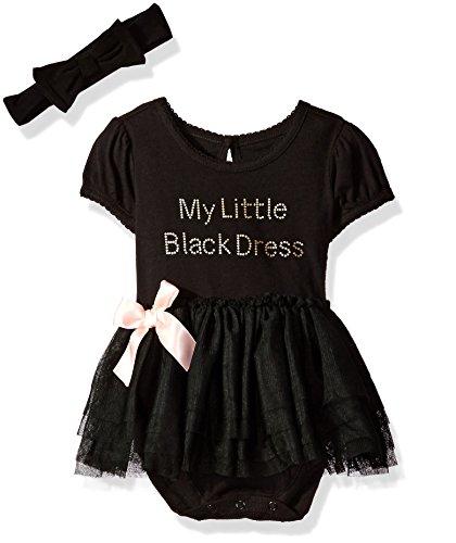 The Children's Place Baby Girls' Tutu Layette Set, Black, 3-6 Months
