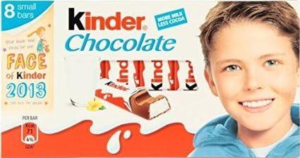 10 X KINDER CHOCOLATE MINI TREAT 8PK 100g | 10 PACK BUNDLE: Amazon ...