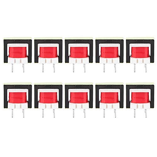 10pcs 1300 : 8 Ohm Audio Transformer EE14 Transformateur POS Transformador for Voltage Amplification and Power Output