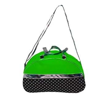 Girls Green Sequin Moon Duffel Bag