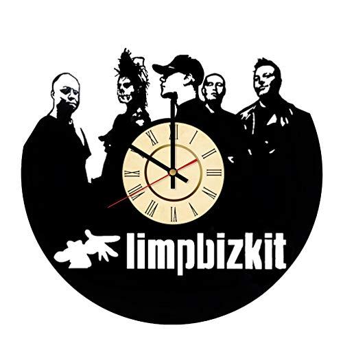 Limp Bizkit Vinyl Clock Great Gift for Fred Durst Fans Sam Rivers Wall Decor Nu Metal Band Art Rap Rock Home & Living Room Artwork