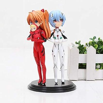 Amazon.com: 12cm (4.7 inch) - Neon Genesis Evangelion PVC ...