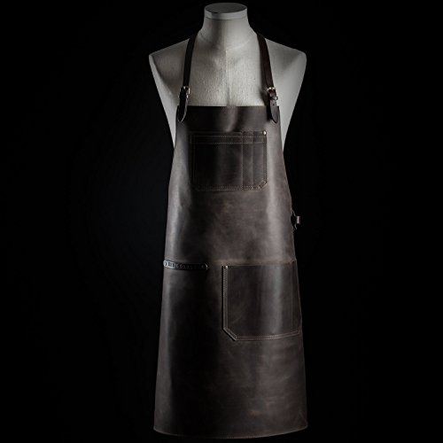 Bartender apron by Kruk Garage Barista apron Leather apron Barbers apron Unisex apron Chef apron Men gift Birthday gift FREE PERSONALIZATION by Kruk Garage