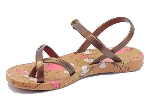 Ipanema 81709 Fascion Sand III Fem Brown/Bronze - Sandalias de goma para mujer Brown/Bronze