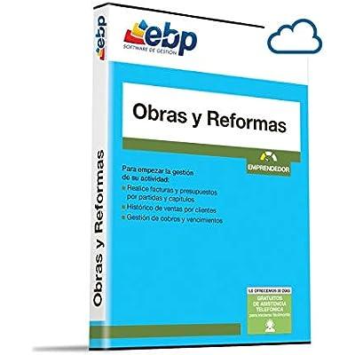 Programa de Facturación Online EBP Obras y Reformas Emprendedor para empresas de Construcción, Reformas e instalaciones