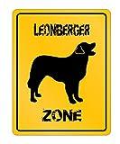 Idakoos - Leonberger Zone - Dogs - Parking Sign