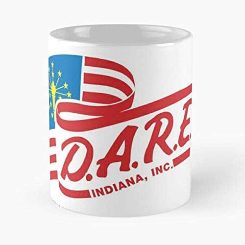 School Drugs Marijuana D A R E C Handcrafted Novelty 110z Gift Coffee Mugs