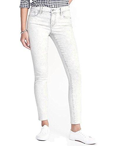 Old Navy Hot Sale Mid-Rise Super Skinny Rockstar Light Gray Jeans for Women! (6 Regular) (Old Navy Pant Women)