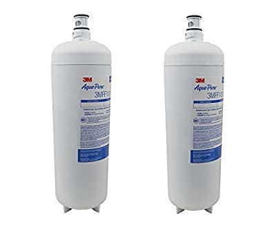 3M Aqua-Pure Under Sink Replacement Water Filter – Model 3MFF101 (Pack of 2)