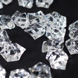 ACRYLIC ICE ROCKS CRYSTALS TABLE DECORATION SCATTER VASE CLEAR GEMS AQUARIUM 170