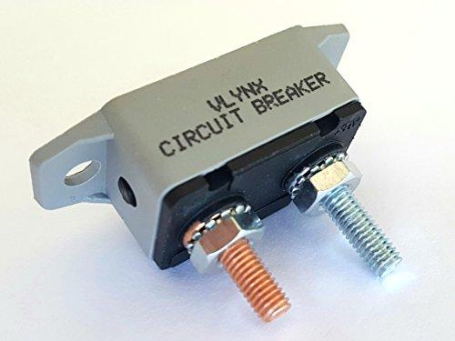 VCB5M50 12 24 28V 50A Auto RV MARINE TROLLING MOTOR Circuit Breaker Manual Reset