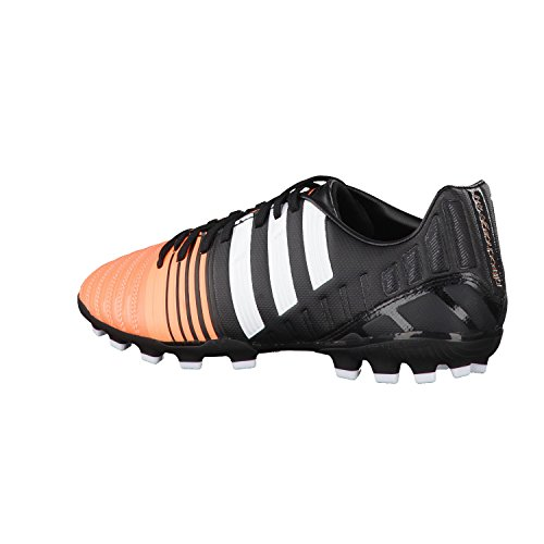 Chaussures adidas F30 FG rouge/blanc Black-White-Flash orange