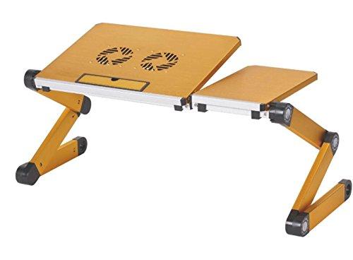 Foldable Laptop Desk Kids Dining Table Bed Tray Desk Writing Desk Study Desk Outdoor Desk,Yellow-OneSize by GHGJU