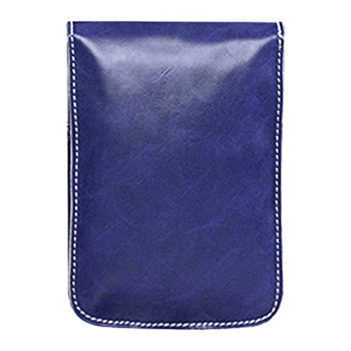 Mini Sasairy Bandolera de para teléfono Bolso de Multipropósito PU Universal Bolso Bolso Mujeres de Azul de Cuero Bolso del la rqwrW7a4T