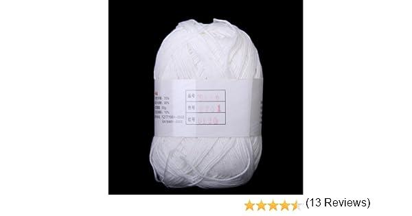 Sonline Tencel Bambu Hilados De Algodon Para Bebes - Blanco: Amazon.es: Hogar