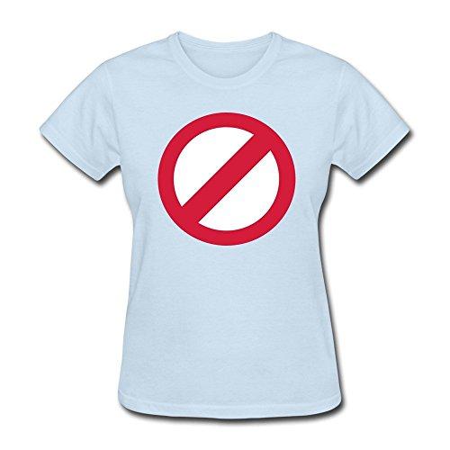 - JSFAD Women's No Horse T-shirt XXL