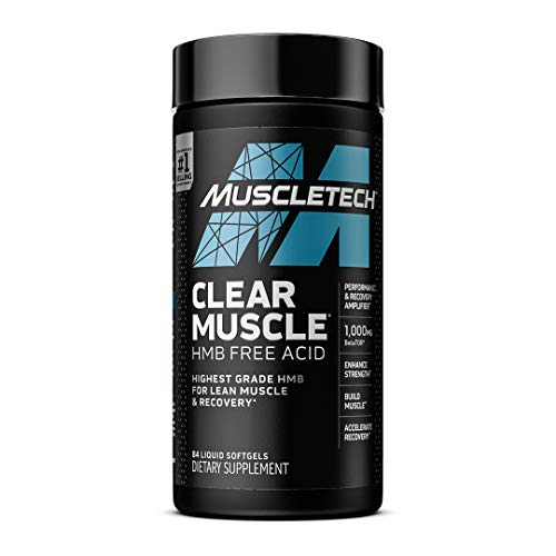 Muscletech Clear Muscle Next Gen (BetaTOR 1000mg, Betaine Anhydrous 250mg) – 84 Softgels