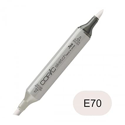 Copic Sketch Marker E70 Ash Rose