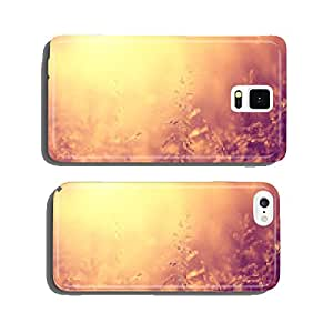 Beautiful vintage color meadow background cell phone cover case iPhone6