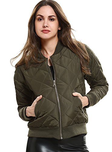 Quilted Bomber Jacket - 2