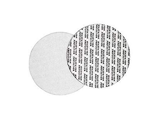 (100 PCS Diameter 1 Inch Pressure Sensitive Self Adhesive Gasket Foam Seal Safety Tamper Resistant Seals Aluminum Foil Gasket Waterproof Sealing Film for Cap Liner Sealed for Protection)