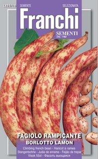 Italian Heirloom Shelling Bean - Borlotto ()