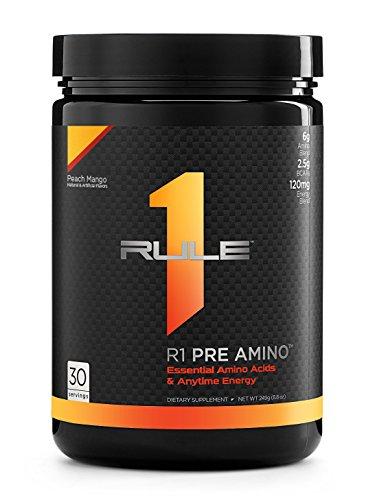 R1 Pre Amino, Rule 1 Proteins (Peach Mango, 30 Servings) Review